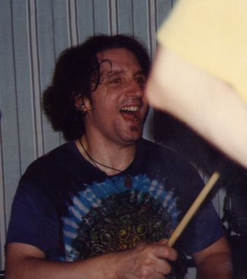 Dave Thomas on Drums